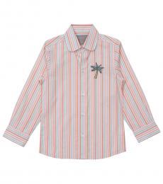 Self Stitch Boys Exotic Palm Shirt