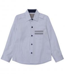 Self Stitch Little Boys Formal Oxford Shirt