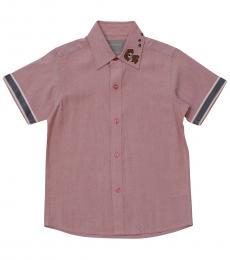 Self Stitch Boys Puppy Paw Shirt
