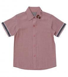 Self Stitch Little Boys Puppy Paw Shirt