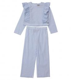 Self Stitch Baby Girls Stripe Co-ord Set