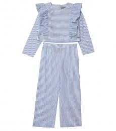 Self Stitch Little Girls Stripe Co-ord Set