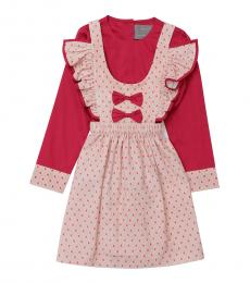 Self Stitch Baby Girls Little Hearts Dress Set