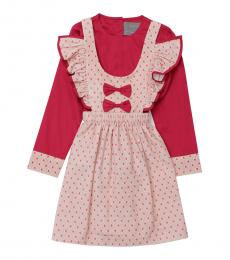 Self Stitch Little Girls Little Hearts Dress Set