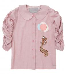 Self Stitch Baby Girls Rising High Squirrel Shirt