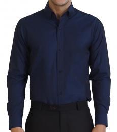 Button Down Textured Shirt