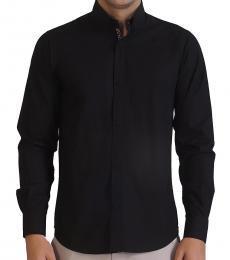 Self Stitch Jacquard Detail Shirt