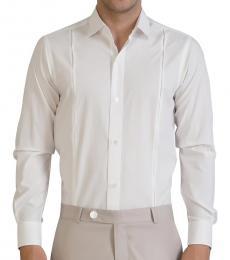 Self Stitch Side Tucks Dress Shirt