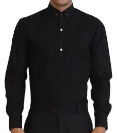 Self Stitch Classic Black Tie Pin Shirt