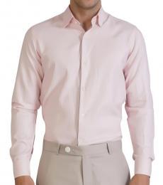 Self Stitch Pink Herringbone Shirt