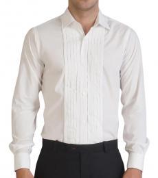 Self Stitch Front Tucks Dress Shirt