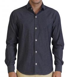 Downward Collar Chambray Shirt