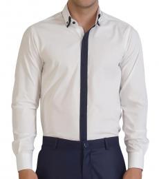 Self Stitch Button Down Double Collar Shirt