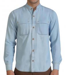 Self Stitch Washed Out Denim Shirt