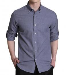 Self Stitch Chambray Cotton Shirt