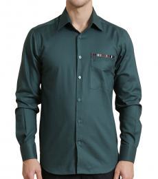 Self Stitch Badge Pocket Shirt