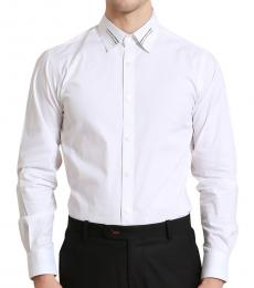 Self Stitch Weave Collar Shirt