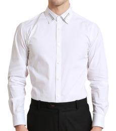 Self Stitch Weave Collar Shirt