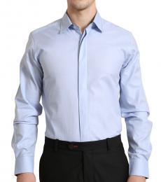 Braided Collar Shirt