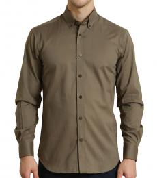 Business Casual Olive Shirt