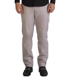 Minimal Zipper Detail Chinos