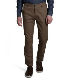 Tapered Brown Chinos