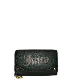 Juicy Couture Black Desert Lights Zip Around Wallet