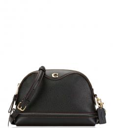 Coach Black Ivie Medium Crossbody Bag