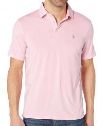 Ralph Lauren Pink Logo Polo Tee