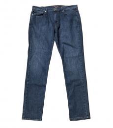 Michael Kors Blue Parker Slim Fit Jeans