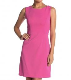 Betsey Johnson Fuchsia Cutout Back Sheath Dress