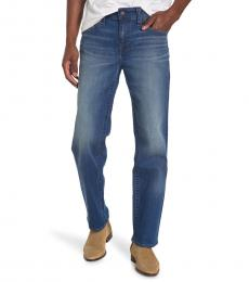 True Religion Blue Devin No Flap Jeans