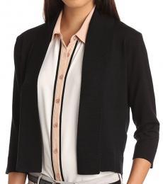 Calvin Klein Black Shrug Sweater