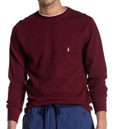 Ralph Lauren Cherry Waffle Thermal Sweater