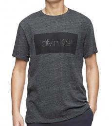 Calvin Klein Dark Grey Classic Logo Box T-Shirt
