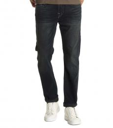 True Religion Dark Rocco Relaxed Skinny Jeans