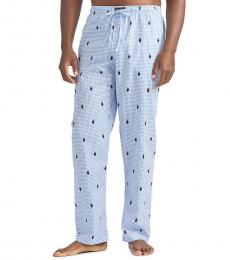 Ralph Lauren Light Blue Tropical Pajama Pants