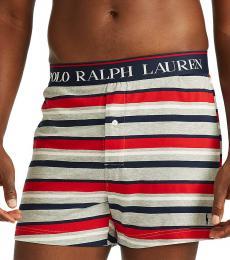 Ralph Lauren Multi Stripe Pony Logo Boxers