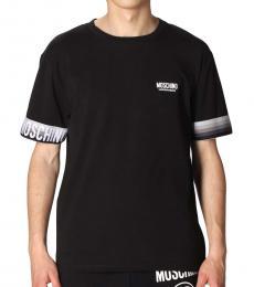 Moschino Black Front Logo T-Shirt