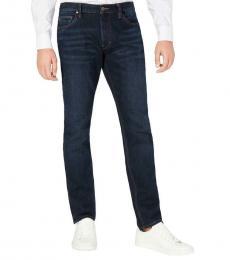 Michael Kors Indigo Wash Slim Fit Mid-Rise Jeans