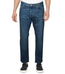 Michael Kors Foster Slim Fit Mid-Rise Jeans