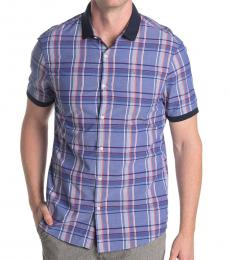 Michael Kors Twilight Slim Fit Aaron Short Sleeve Shirt