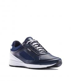 Hugo Boss Blue Hybrid Runn Sneakers