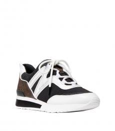 Michael Kors Black Brown Pippin Sneakers