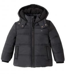 Calvin Klein Boys Black Puffer Jacket