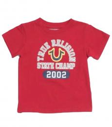 True Religion Little Boys Red State Champs T-Shirt