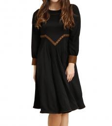 Self Stitch Godet Flare Dress