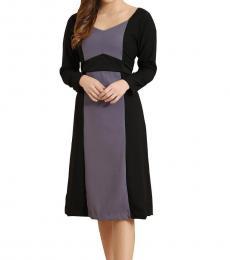 Minimal Color Block Dress