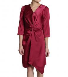 Overlap Twist Dress