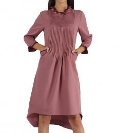 High Low Trapezium Dress